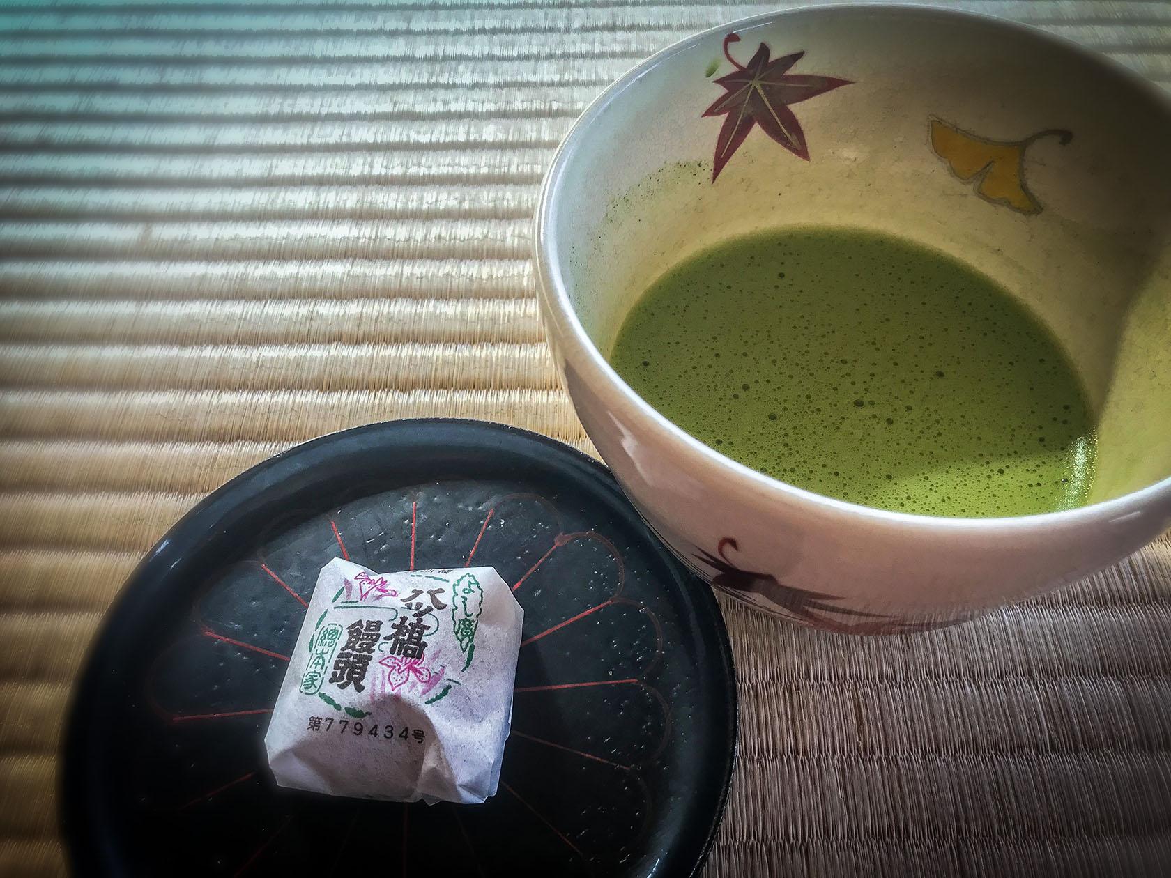 matcha and tatami