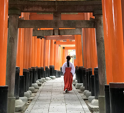 two-day itinerary in kyoto