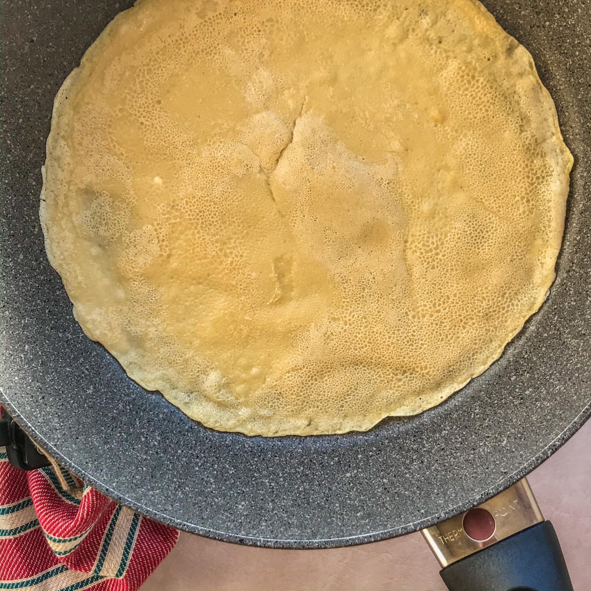 vegan crepe