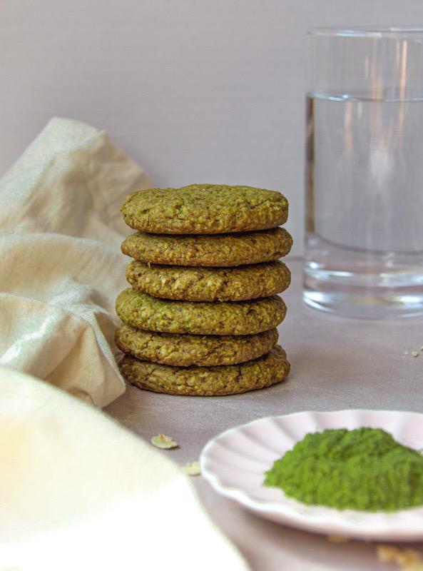 עוגיות מאצ'ה בריאות