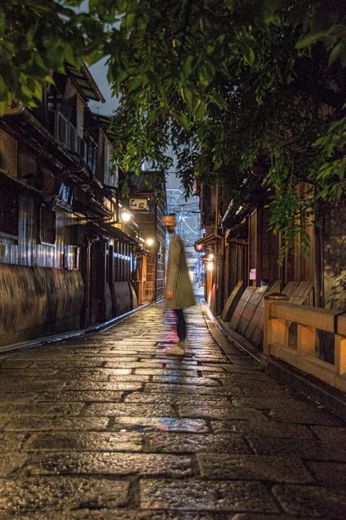 קיוטו בלילה