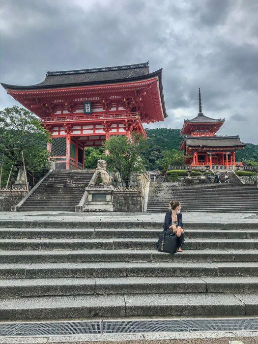 Kiyomizudera kyoto itinerary