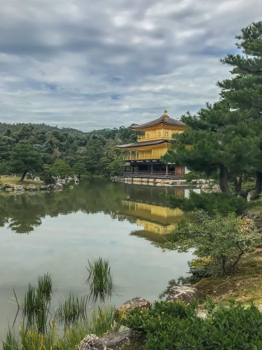 Kinrakuji two-day itinerary to Kyoto