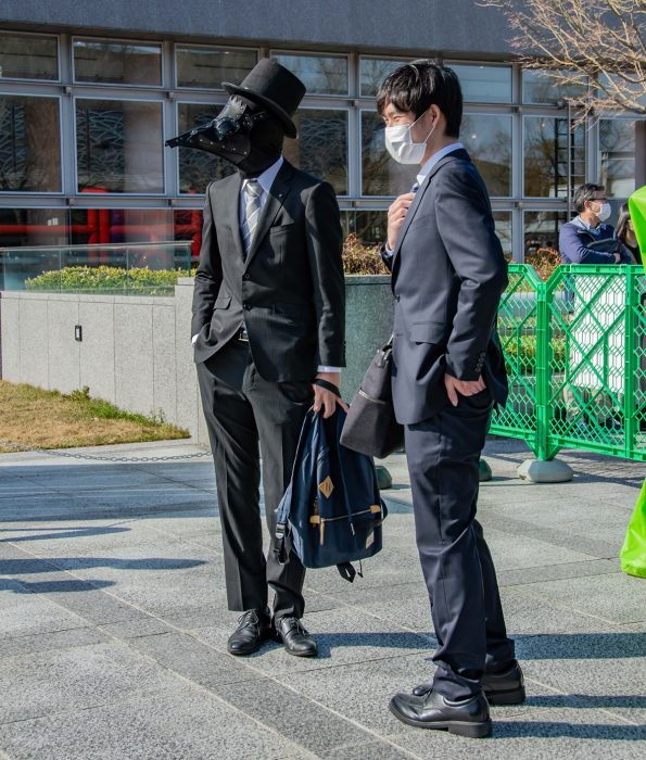 Kyoto University cosplay graduation